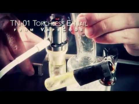 VapeCode TN-01 Torch-less Portable E-nail for Dabbing Wax: Blazin' Gear Review