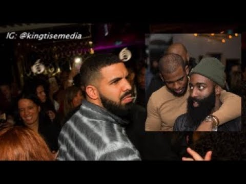 Drake Took James Harden, Chris Paul & Rockets To Dinner After They Lost To Toronto Raptors