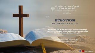 HTTL PHONG THỬ - Chương Trình Thờ Phượng Chúa - 26/09/2021