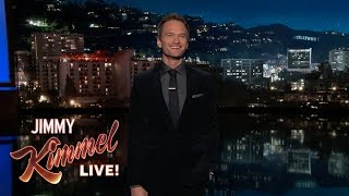 Neil Patrick Harris' Guest Host Monologue on Jimmy Kimmel Live
