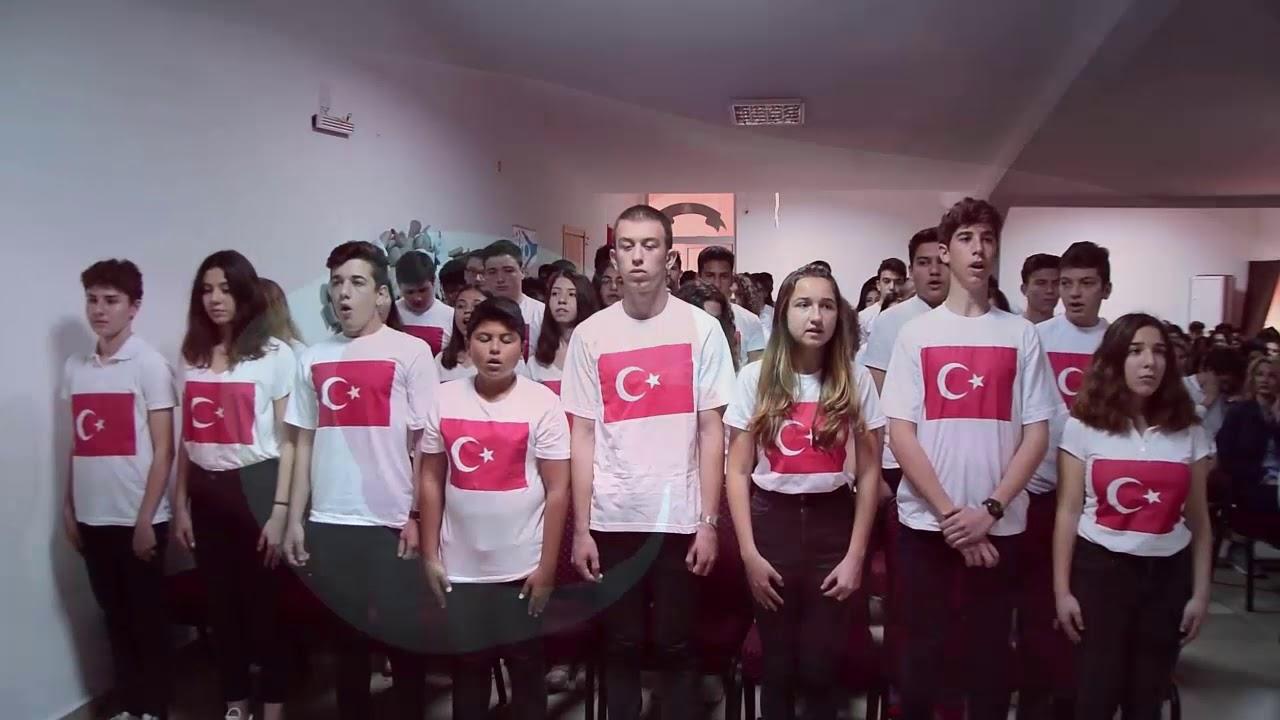 Ozel Fethiye Hatem Anadolu Lisesi Ingilizce Turkce Istiklal Marsi