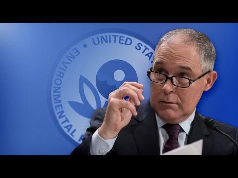LIBERALS ARE GOING NUTS: Scott Pruitt Restructuring The EPA ASAP!!!