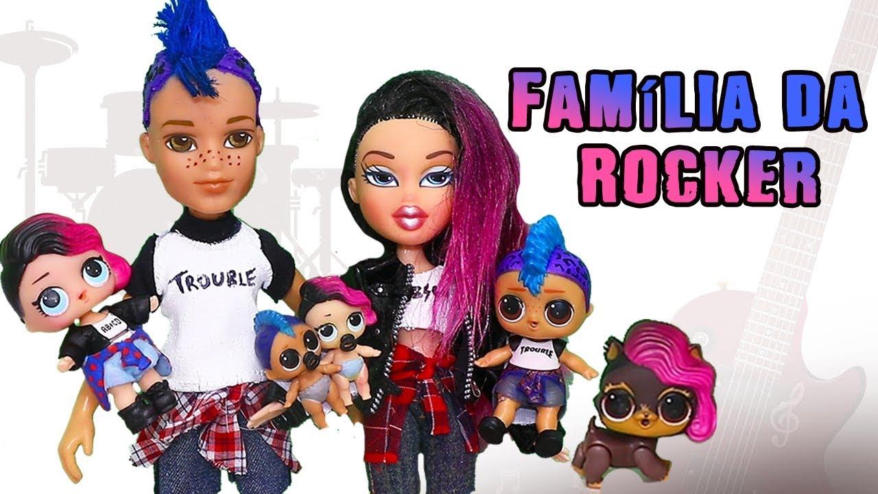 Bonecas Lol Surpresa Conheca A Familia Da Rocker