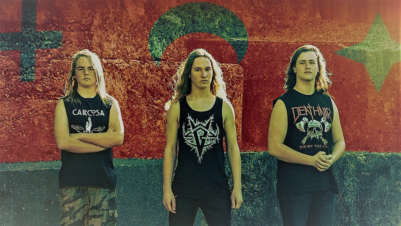 A teenage thrash metal band from New Zealand is preserving Maori