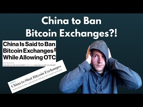 WTF China! China Exchange Ban Reported by WSJ & Bloomberg.. Is a Utility Token Correction Incoming?