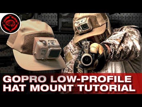 GoPro Mount Tutorial (Low Profile Hat Mount)