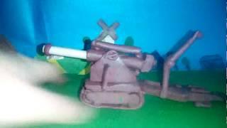 Танк бр-5 з пластиліну