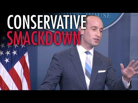 Stephen Miller slams CNN on immigration