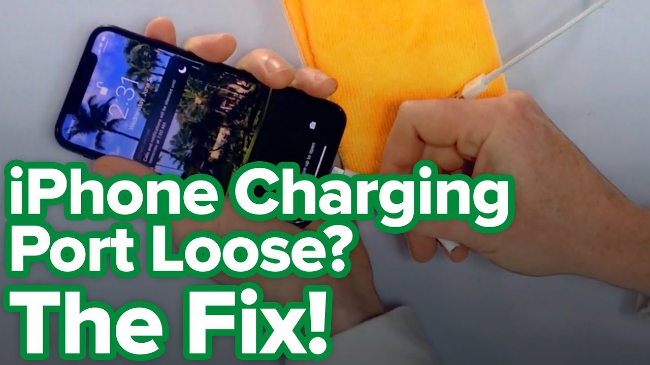 Iphone Charging Port Loose Here S The Fix