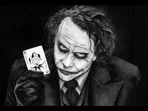 joker statue black and white youtube