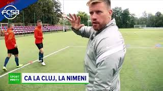 CFR și-a pus antrenor pe banca la derbyul cu FCSB un antrenor din Liga a 3-a