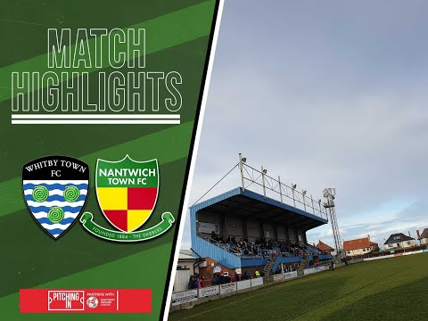 Whitby Nantwich Goals And Highlights