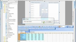 List Builder In Xcelsius
