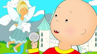 Caillou and the Tooth Fairy | Caillou Cartoon