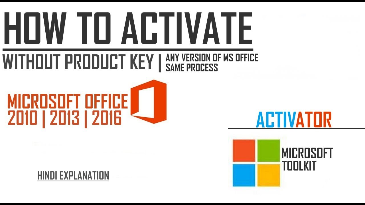 microsoft toolkit 2.3.2 for office 2013 and windows