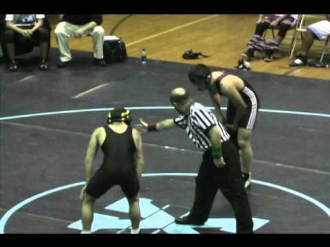 Xavier HS Wrestling vs James Madison High School on 1-28-08
