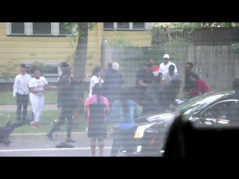Violence erupts in Oak Park