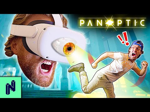 Can You Outsmart A GIANT OVERLORD In VR? | Panoptic