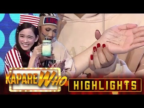 Vice Ganda catches Ate Girl Jackque's cheat code | It's Showtime KapareWHO