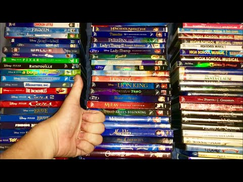 Disney / Pixar DVD & Blu-Ray Collection 2018