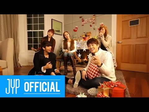 "JYP Nation ""This Christmas"" M/V"