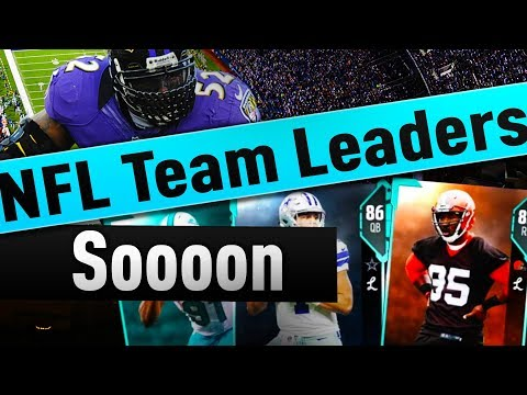 TEAM LEADERS ARE COMING OUT VERY SOON, CONFIRMED EASTER EGG IN MADDEN 18