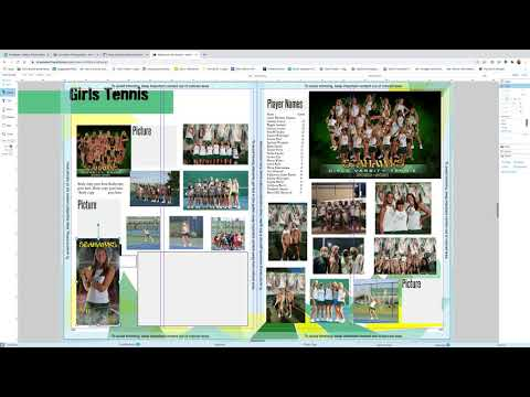 Yearbook Sports templates