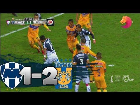 Monterrey vs Tigres 1-2 HD GOLES & RESUMEN 2017 FINAL TIGRES CAMPEÓN Liga MX 10/12/2017