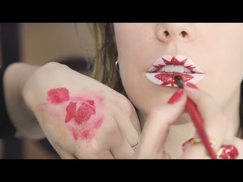 Canada Day Lip Art By Vlada Haggerty | ELLE Canada