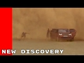 2017 Land Rover Discovery Driving Through Sand Storm