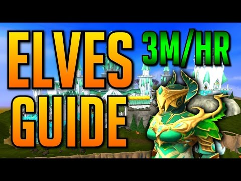 Runescape - Elves Guide 3M+ GP/Hour & 250K XP/Hour