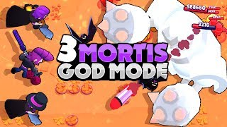 Triple Mortis Reaches GOD BOSS On INSANE 6! - Boss Fight - Brawl Stars
