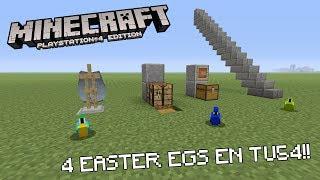 4 Easter Eggs en TU54 sur Minecraft PS4/XBOX ONE !!