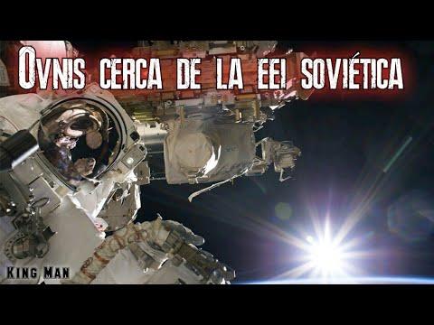 Ovnis muy cerca de la Estación espacial de Rusia