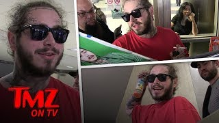 Post Malone Wants To Drink With Ghosts | TMZ TV