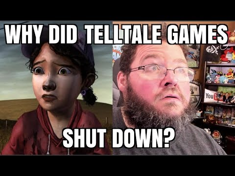 Why did TellTale games SHUT DOWN? Will They Finish Walking Dead?