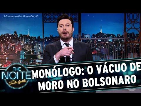 Monólogo: Bolsonaro é ignorado por Sérgio Moro | The Noite (03/04/17)