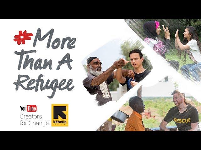 The VisualizED #MoreThanARefugee Youtube Videos