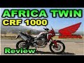 HONDA AFRICA TWIN REVIEW / BLITZ RIDER