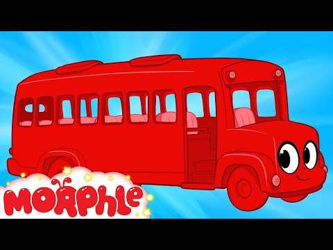 My Red Bus (+ Morphle compilation) My Magic Pet Morphle Episode #31