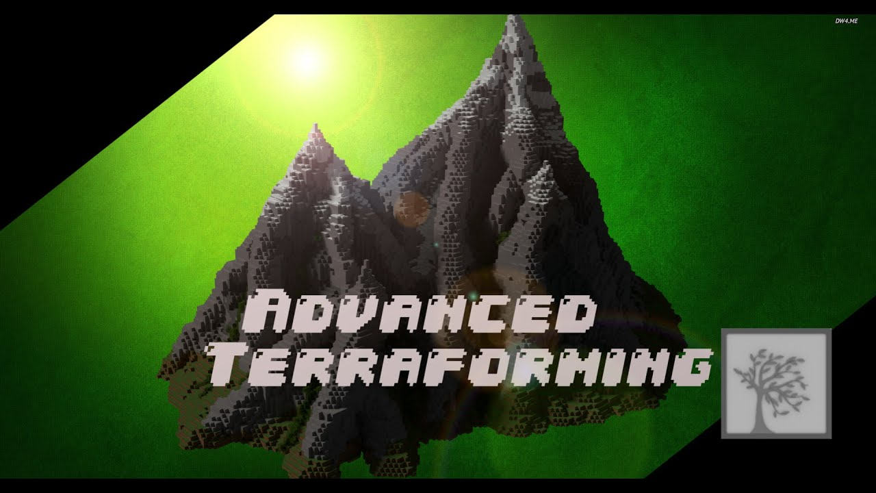Minecraft Building Basics Advanced Terraforming YouTube - Minecraft grobe hauser download