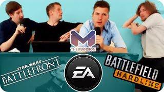 Star Wars: Battlefront & Battlefield Hardline - E3 2014 Electronic Arts Pressekonferenz - Mansion