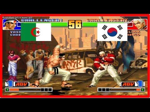 Kof 98 - KusanaGamii (algeria) vs kojonc (south korea) Fightcade