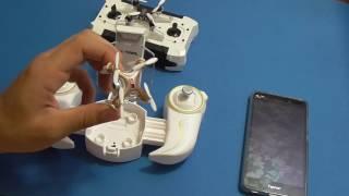 видео Квадрокоптер Cheerson CX-10WD (с камерой, управление по WiFi)