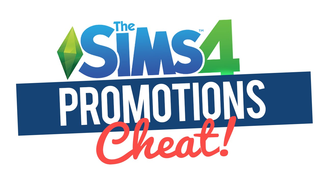 The Sims 4 Career Promotion Cheat