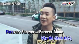 [Karaoke - Beat] Forever Alone Gok Kun