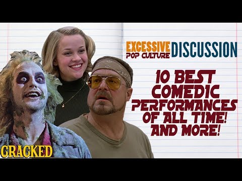 10 Most Iconic Comedic Performances in Movie History - This Week in EPCD (Big Lebowski, Beetlejuice)