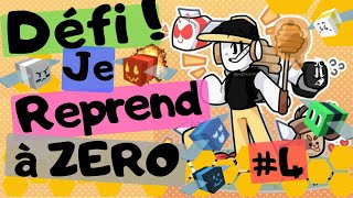 DEFI: #4I'm starting again at ZERO! Bee Swarm Simulator DE ROBLOX