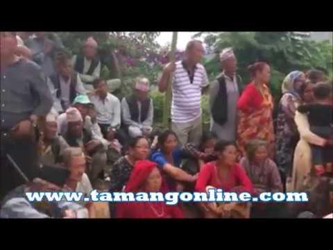 TAMANG traditionals  DANCE (घेवा रि सिन्दुप स्याबान्)