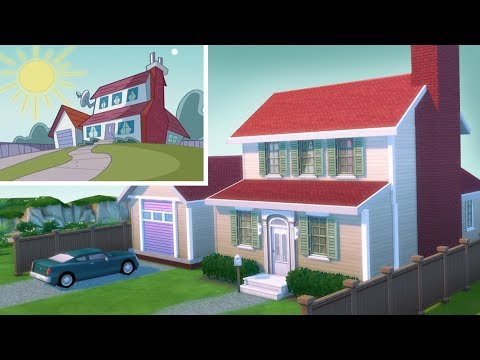 FAIRLY ODD PARENTS HOUSE // The Sims 4: Speed Build